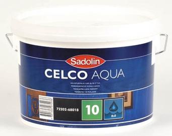 """Matinis lakas """"Sadolin"""" Celco Aqua 10, 2,5 l"""