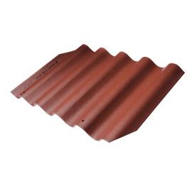 Laineline katuseplekk Eternit 875x920mm, pruun/bordoo