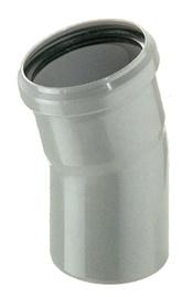 Kanalizācijas caurules 22° līkums Bees D110mm, PP