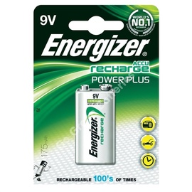 Baterija Energizer Recharge Power Plus 9V, 175mAh