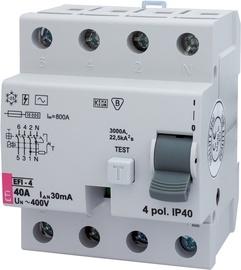 Rikkevoolukaitse EFI-4, 40/0.03 AC 40A 4P