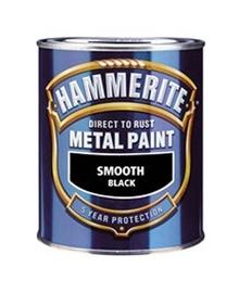 """JUODI METALO DAŽAI """"SMOOTH"""" (750 ml) (HAMMERITE)"""