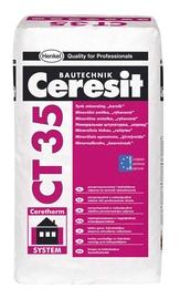 Mineralinis dekoratyvinis tinkas Ceresit CT 35, 2,5 mm, 25 kg, baltas