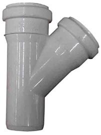 Kanalizācijas trejgabals Wavin D40mm, 45°, PP