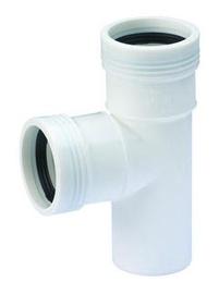 Kanalizācijas trejgabals Wavin D40mm, 90°, PP
