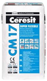 Elastiniai plytelių klijai Ceresit CM 17, 5 kg