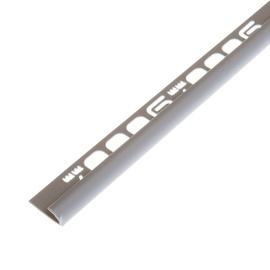 Plaadiliist 017003, välisnurk, 7mm, 250 cm, hall