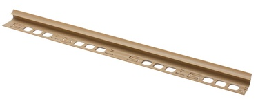 Plaadiliist 027007, sisenurk, 7 mm, 250 cm, liiv