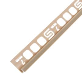 Plaadiliist 027006, 7 mm/2,5 m, beez