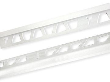 Plaadiliist, väline, 9/2,5 mm, 019134, valge marmor