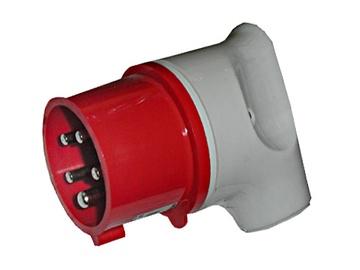 Pistik 216 5X16A, punane
