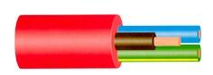 Kabelis Owy / H05VV-F, 3 x 4 mm²
