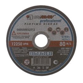 Pjovimo diskas, 125x2x22,23 mm