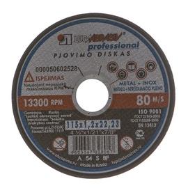 Pjovimo diskas, 115x1,2x22,23 mm