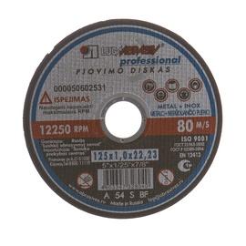 Pjovimo diskas, 125x1,0x22,23 mm