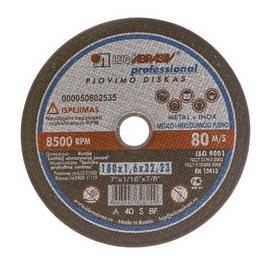 Pjovimo diskas, 180x1,6x22,23 mm