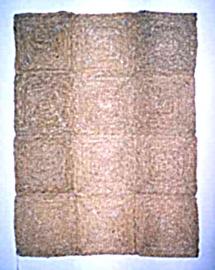 Durų kilimėlis Nr. 6, pintas, 90 x 120 cm