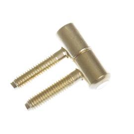 Langų lankstas 030, 13 mm, žalvariuotas