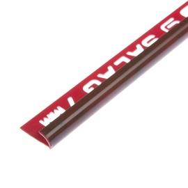 Plaadiliist, väline, 7/2,5 mm, 017141, punane