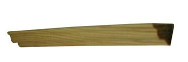 Sisenurgaliist, tamm, 12x12x1000mm