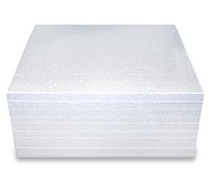 Polistireno putplasčio plokštė EPS50, 100x1000x1000 mm