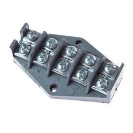 Klemmplokk Elektroplast 0963, 4x10 mm²