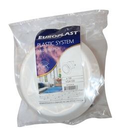 Difuzors ar atstarpēm Europlast, VDA100, D100, balts