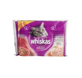 Kačių ėdalas Whiskas Delice Pouch, 4 x 100 g