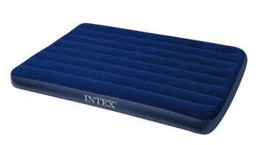 Pripučiamasis aksominis čiužinys Intex Full Classic Downy, 191 x 137 x 22 cm