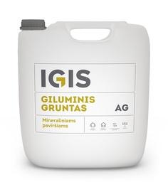"""VIDAUS IR IŠORĖS DARBŲ GILUMINIS GRUNTAS """"IGIS. AG"""" (10 l)"""