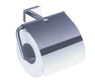 WC paberihoidja kaanega Minnesota kroom