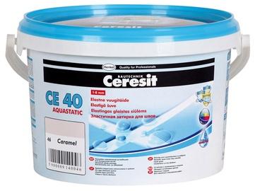 Elastingas plytelių tarpų glaistas Ceresit CE40/13, tamsiai pilkas, 5 kg