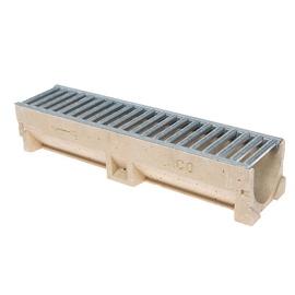 Latako elementas su cinkuotojo plieno grotelėmis ACO 38702, 0,5m