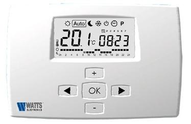 """Savaitinis kambario termostatas """"Watts"""" Milux"""