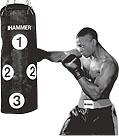 "Bokso maišas ""Hammer"" Sparring Partner, 28 x 80 cm, 15 kg"