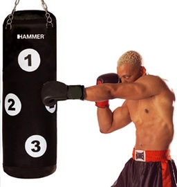 Bokso maišas Hammer Sparring Partner, 28 x 80 cm, 15 kg