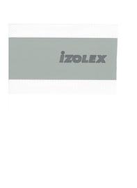 Pilka hidroizoliacinė juosta Izolex, 120 mm, 50 m