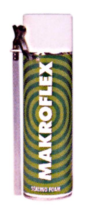Montažinės putos Makroflex, 300 ml