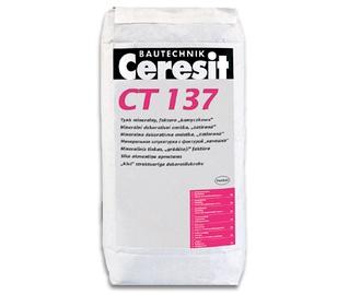 Dažomasis dekoratyvinis tinkas Ceresit CT137, 2,5 mm, 25 kg