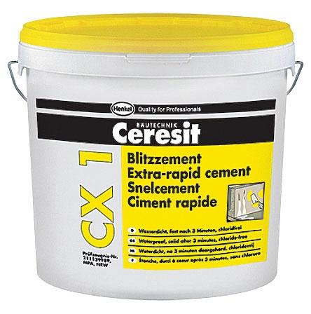 Kiirkivistuv tsement Ceresit CX1 6kg