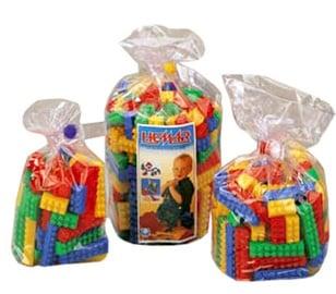 Kluči rotaļu K1BD plastmasas, 147 gab. komplektā