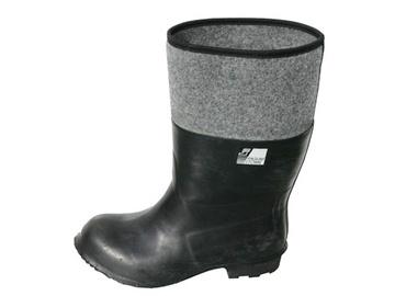 Guminiai batai, su veltiniu, 45 dydis