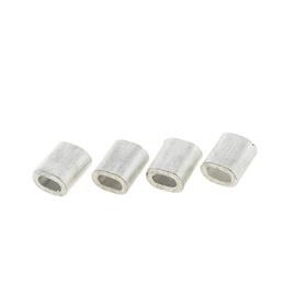 Trossiklamber Vagner SDH 1,5 mm, alumiinium, din3093, 4 tk