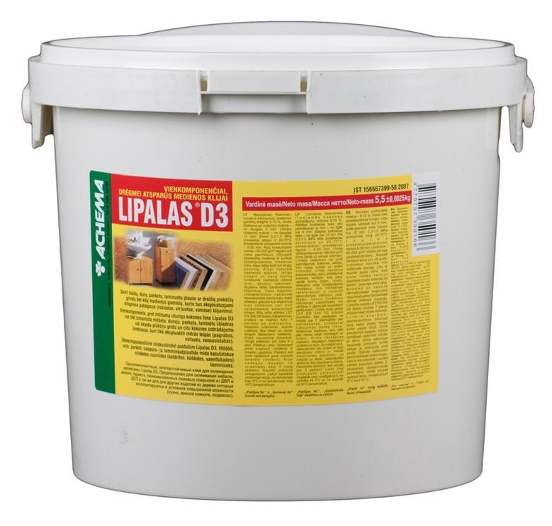 Medienos klijai Lipalas D3, 5,5 kg