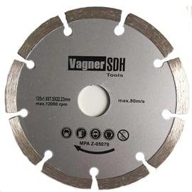 Deimantinis segmentinis pjovimo diskas, 230x2,4x22,23 mm