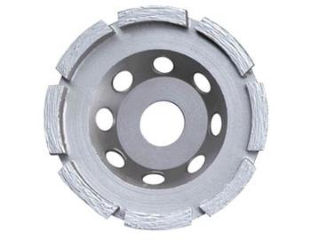 Deimantinis šlifavimo puodas, 125x22,23 mm