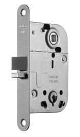 Įleidžiamoji spyna Abloy LC2014, su plokštele ir raktu