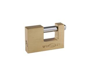 Kabamoji spyna Wushi BX980, 80 mm, žalvariuota, 6 / 24