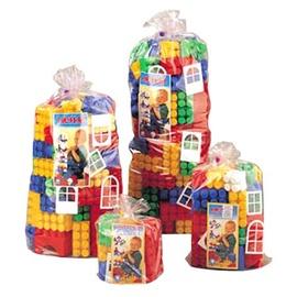 Žaislinis kaladėlių rinkinys K3D 00018, 144 kaladėlių