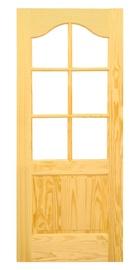 Pušinė vidaus durų varčia Dakota, 810 x 2030 mm